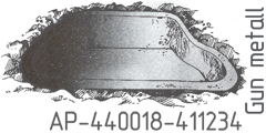Gun metall AP-440018-411234