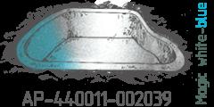 Magik white blue pearl AP-440011-002039