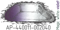 Magik white violet pearl AP-440011-002040