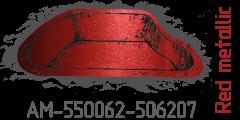 Red metallic AM-550062-506207