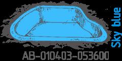 Sky blue AB-010403-053600