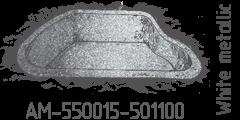White metallic AM-550015-501100